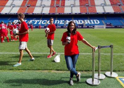 EVENTO COCA-COLA (en Estadio Vicente Calderón)