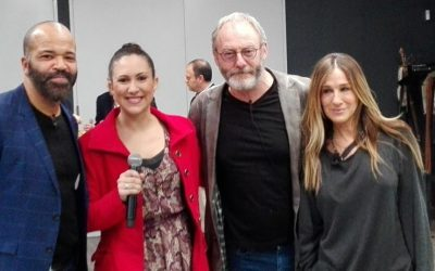 ¡CON SARAH JESSICA PARKER, LIAM CUNNINGHAM Y JEFFREY WRIGHT!