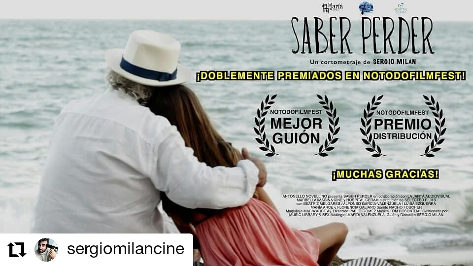 PREMIO MEJOR GUION Y PREMIO A DISTRIBUCIÓN NOTODOFILMFEST