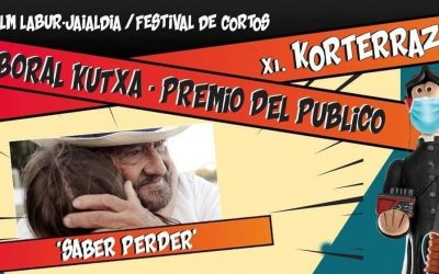 ¡PREMIO DEL PÚBLICO EN EL FESTIVAL KORTERRAZA DE VITORIA!